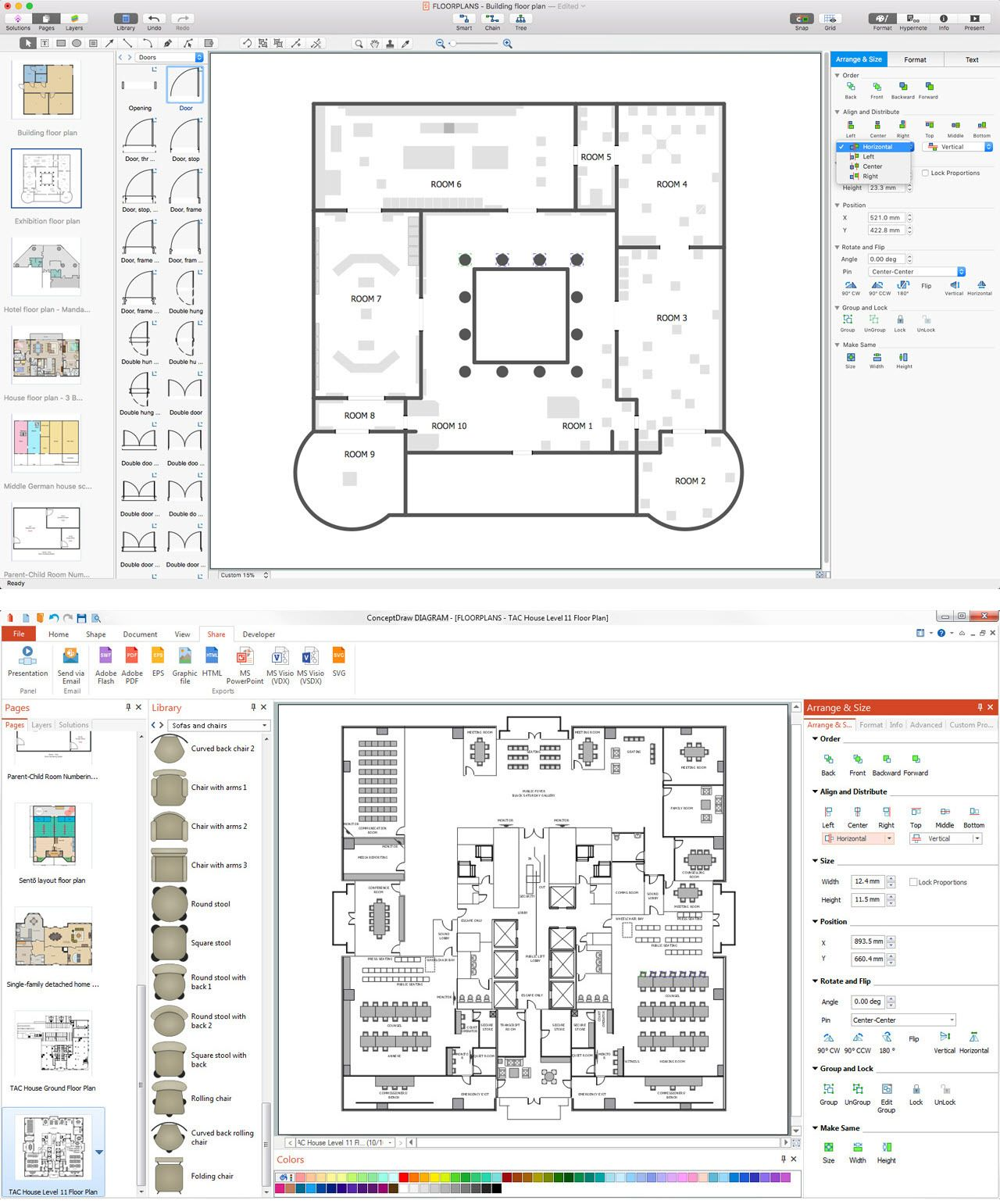 Software For Drawing House Plans 2021 Drawing House Plans House Construction Plan Restaurant Floor Plan