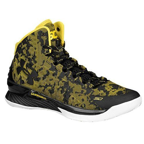 Curry 1 I Can Do All Things Yellow Black Camo Size 13. Price: $250.00