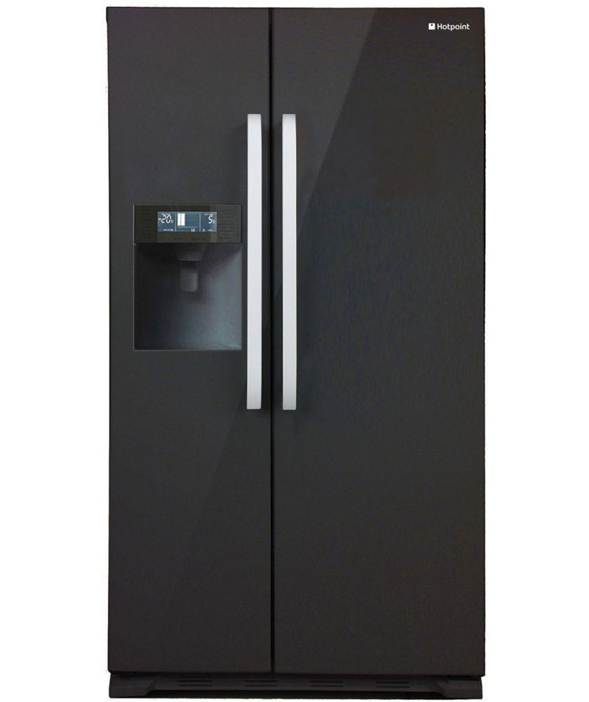 Buy Hotpoint SXBD925 American Fridge Freezer - Black at Argos.co.uk ...