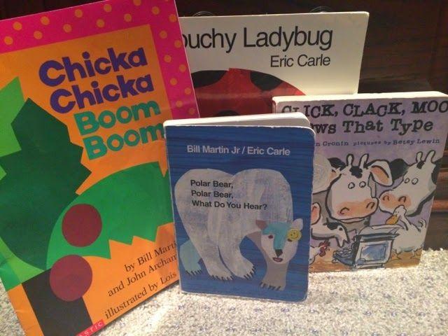 repetitive books that are great for speech and language