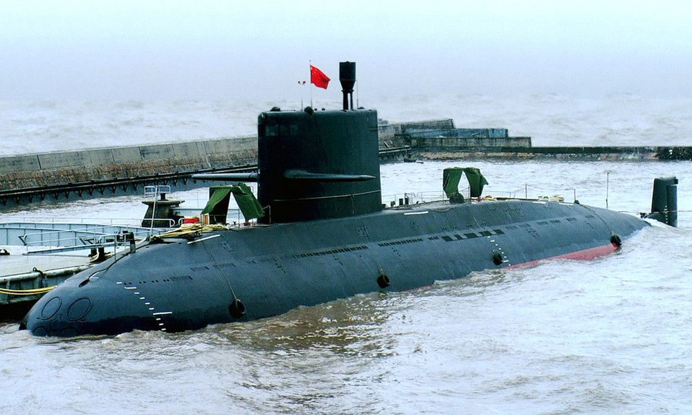 The Type 039 submarine (NATO reporting name: Song-class) is a class of diesel-electric submarines of the People's Liberation Army Navy. The class is the first to be fully developed within China and