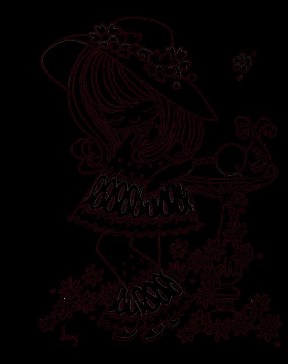 Lineart - pics for coloring - mostly transparent - Mama Mia - Álbuns da web do Picasa