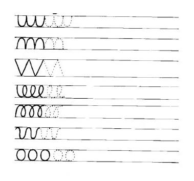 graphisme exercices d 39 criture main gauche pinterest fiche maternelle maternelle et moyenne. Black Bedroom Furniture Sets. Home Design Ideas