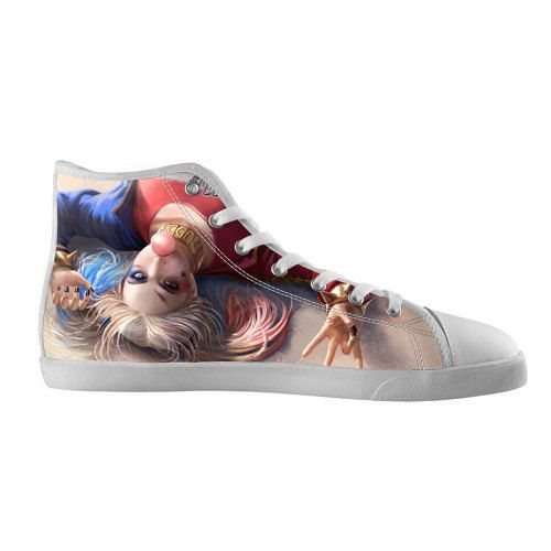 Custom High Top Canvas Shoes Sneakers Style Harley by Gauvarka ... 7a2360393