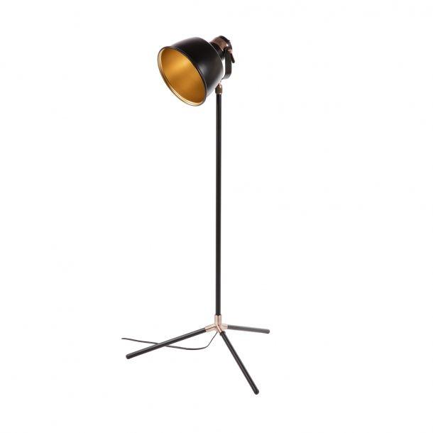 Montgomery Floor Lamp Matte Black Gold Memoky Com Lamp Floor Lamp Task Floor Lamp