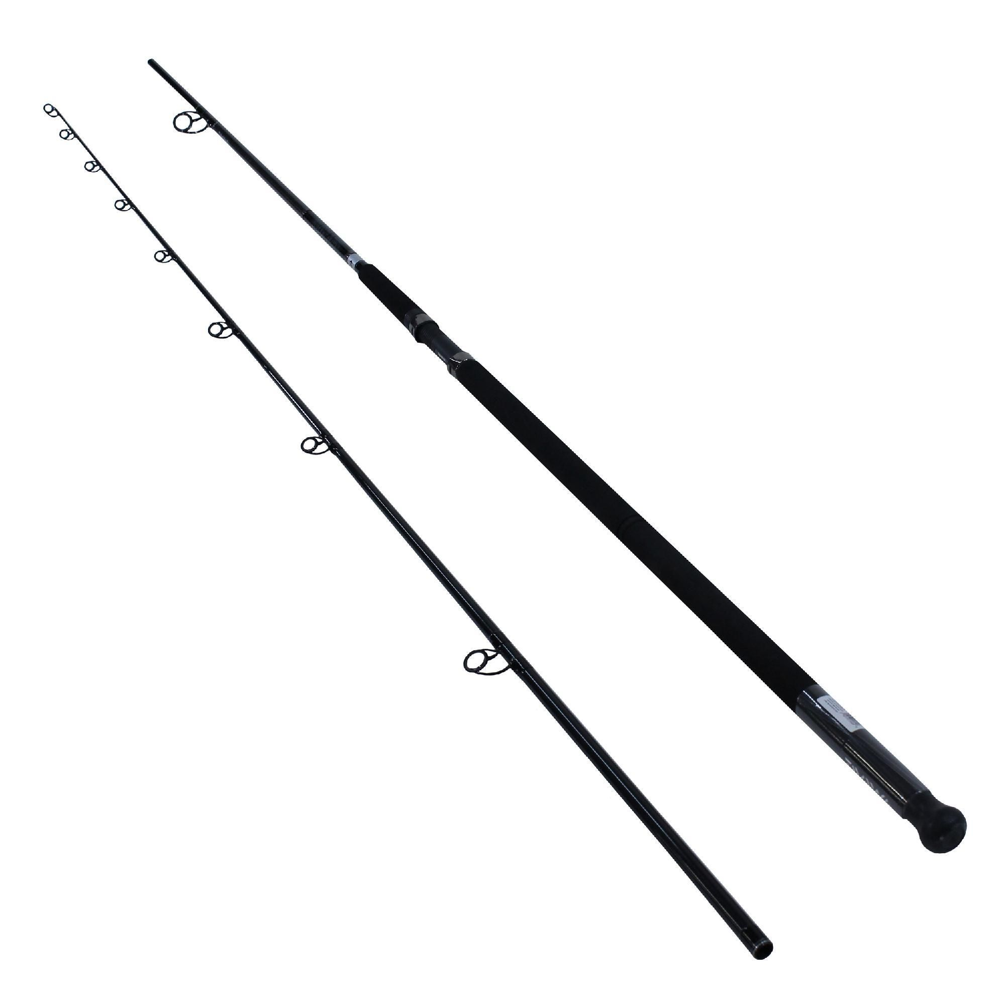 Emcast Surf Casting Rod 11 Length 2 Piece Rod 20 40 Line Rate 4 7 Oz Lure Rate Heavy Power Casting Rod It Cast Rod