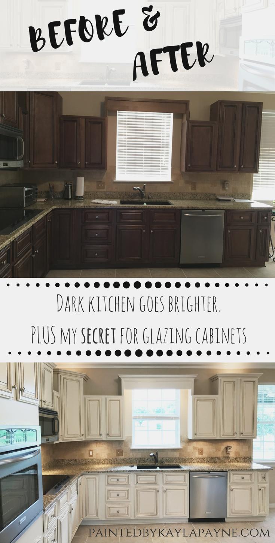 Lighter In 2020 Glazed Kitchen Cabinets Glazing Cabinets New Kitchen Cabinets