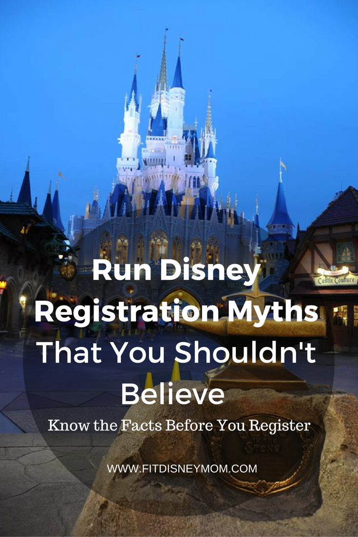 There are so many Run Disney rumors, but here are the facts you need to know before you register for that next Disney race!