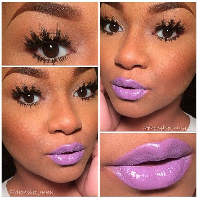 fc9536fb316 #ShareIG Lashes and Lipstick. Simple, yet chic! #KoKolashes in