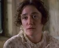 Sophie Thompson-usually plays supporting roles and always steals the show. Here she is portraying Jane Austen's Mary Musgrove in Persuasion 1995.