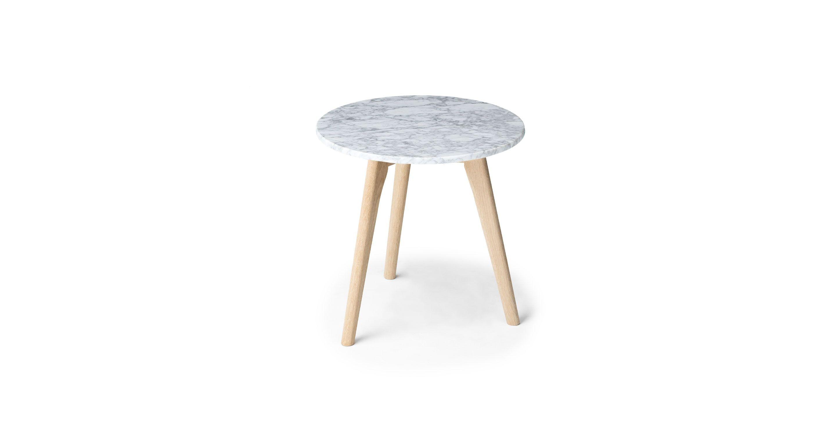 Mara Oak Side Table Mid Century Modern Coffee Table Side Table