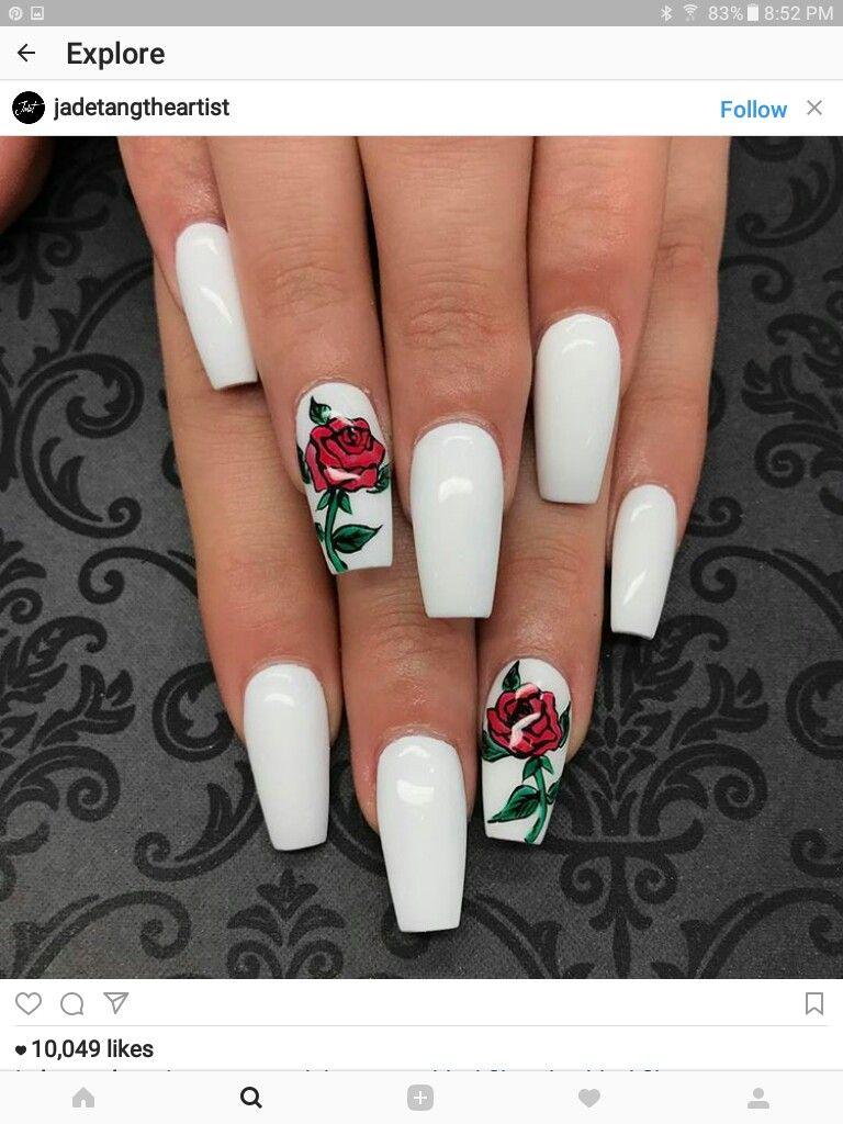 Pin by Teresa Duarte on wedding   Pinterest   Disney nails, Nail ...