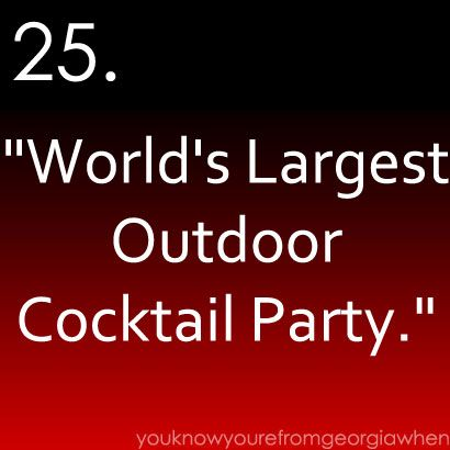 I may have been to this party a few times!
