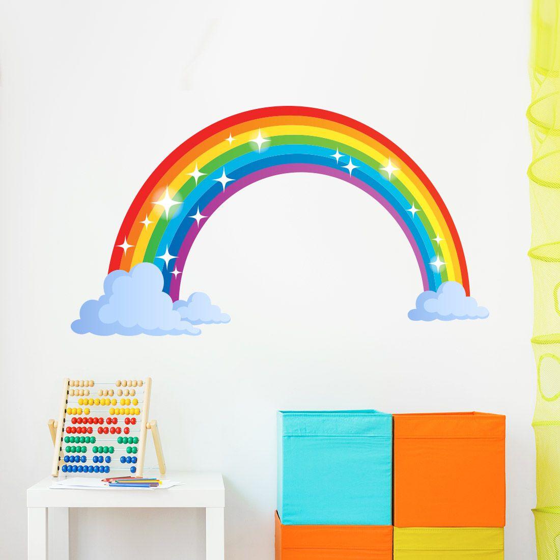 Muurstickers Kinderkamer Goedkoop.Regenboog Muursticker Kinderkamer In 2019 Regenboog
