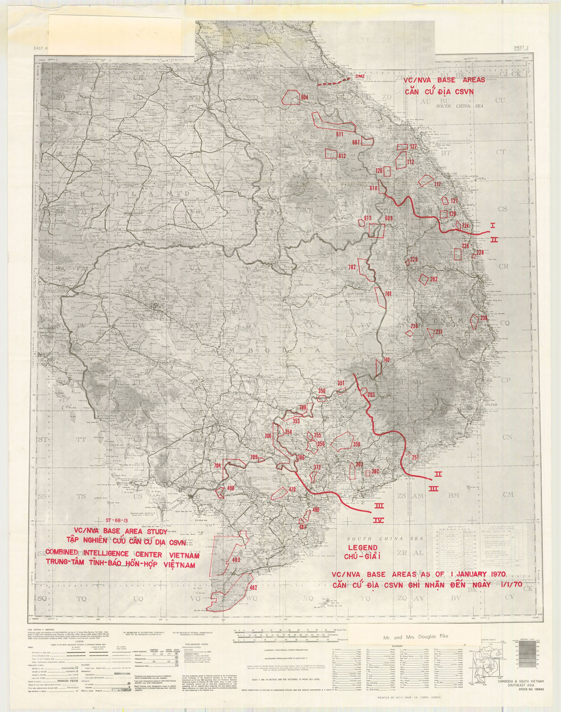 NVA Units in Vietnam Map | The Vietnam Center and Archive | Virtual ...