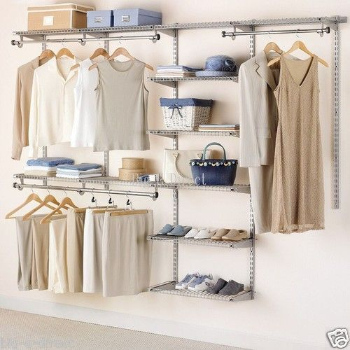 Perfect 20 Extraordinary Rubbermaid Closet Organizers Snapshot Idea