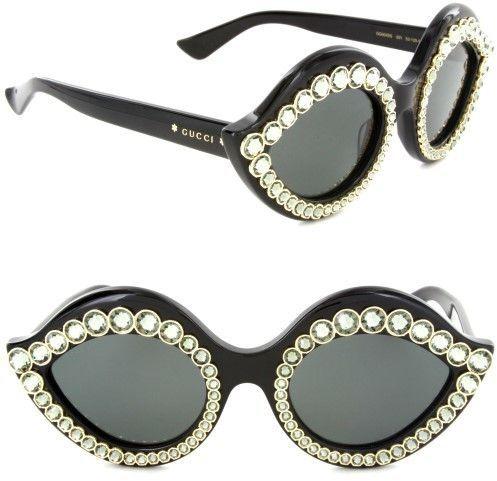 f705c0b3749 Gucci Sunglasses GG 0045 S- 001 BLACK   GREY