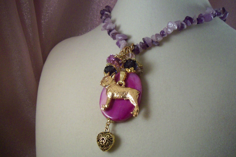 Boston terrier dog jl7 dog jewelry sale free