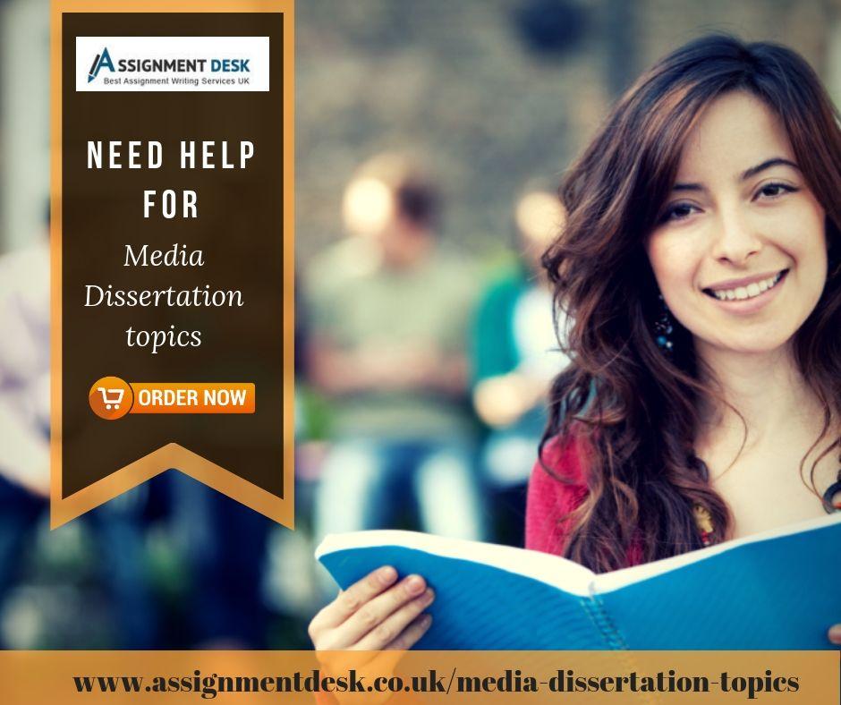 Media Dissertation Topic Writing Topics