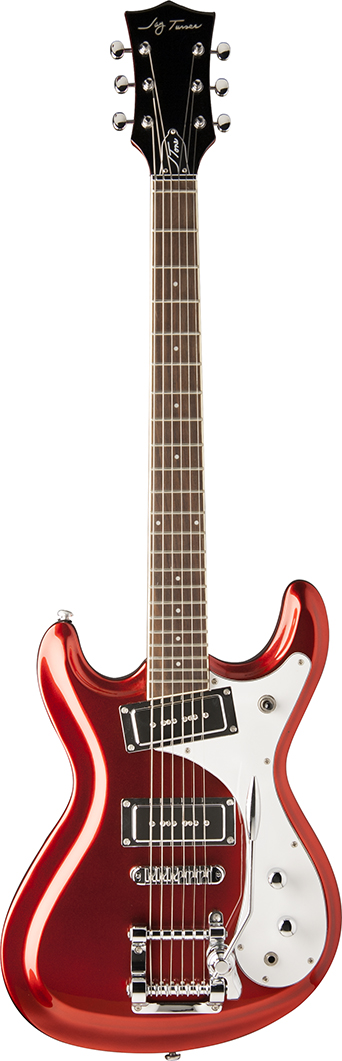 Jay Turser J-TONES Series Electric Guitar - Candy Apple Red