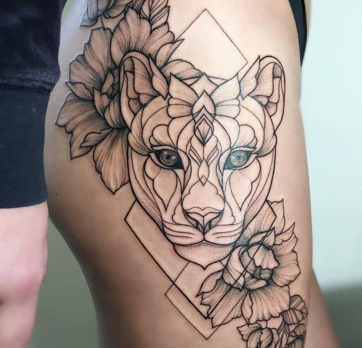 Pin by Jomahira Velez on tattoos Leg tattoos women