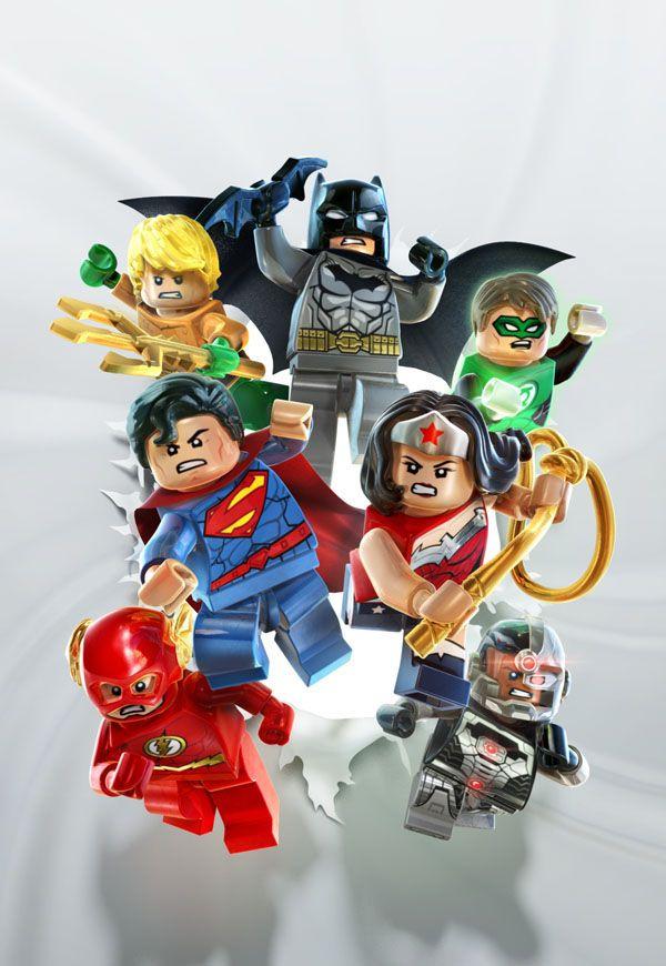 Lego Batman 3 Video Game Custom New 52 Superman Inspired Minifigure