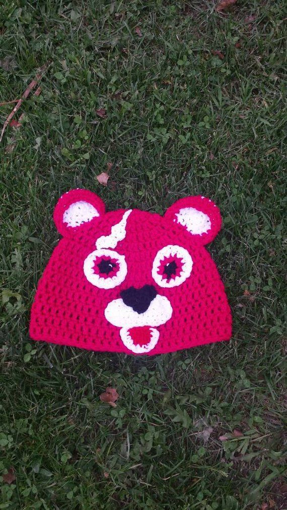 Crochet Pink Panda Bear Hat Halloween Costumes Pinterest