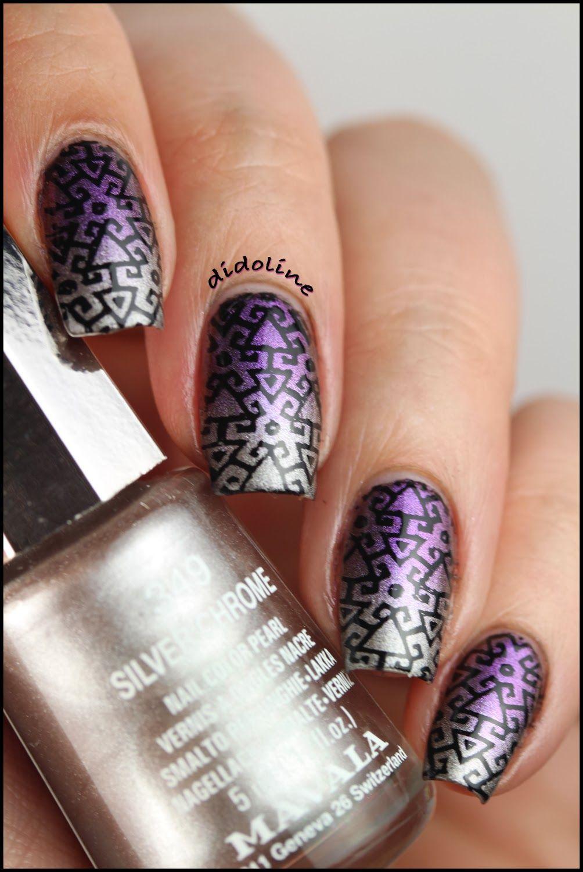 Dgrad Mavala Stamping Avec Infinity Nails Nail Nail Infinity