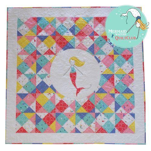 Mermaid Waters Quilt Club! | The Cinderberry Blog | Pinterest ... : mermaid quilts - Adamdwight.com