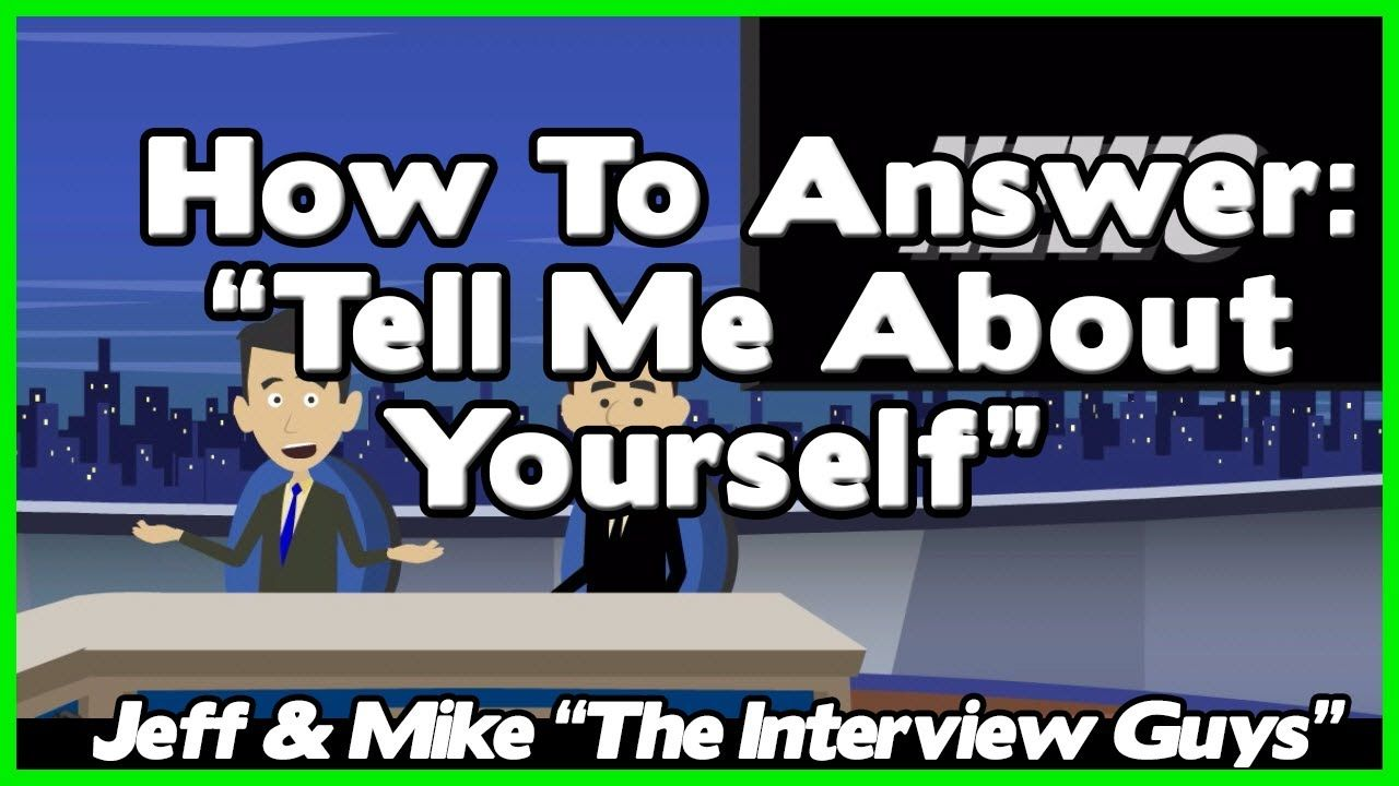 Tell Me About Yourself Good Answer Relies On Avoiding This Job Interview  Trap Watch Later How