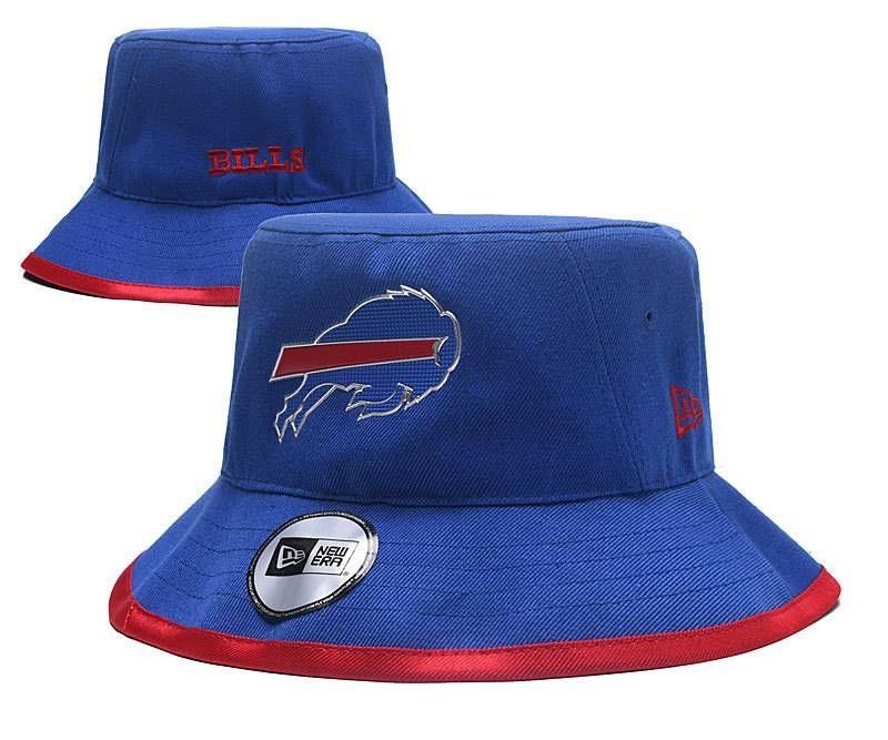 660abd79e7f Buffalo Bills NFL Bucket Hats Blue