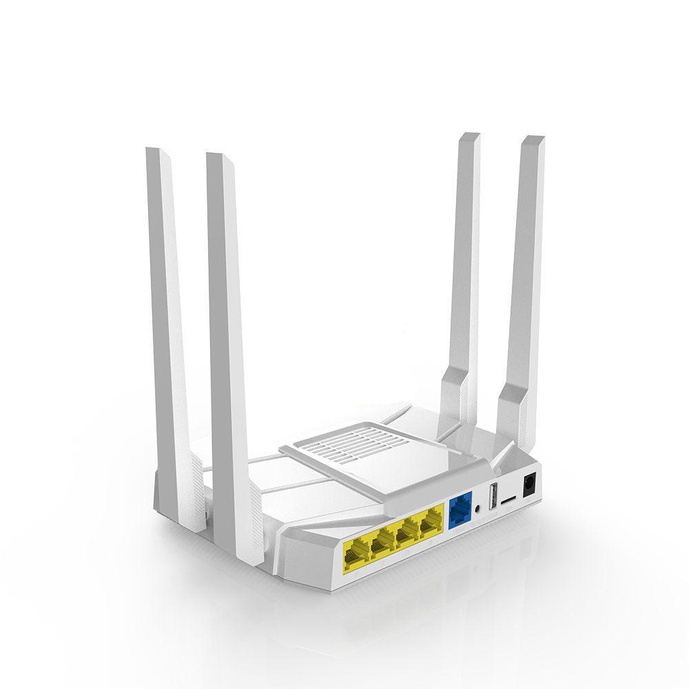 Dual Band 2.4//5Ghz 1200Mbps Wireless WiFi Network USB Adapter w//Antenna 802.11AC