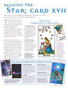 Reading the Star card