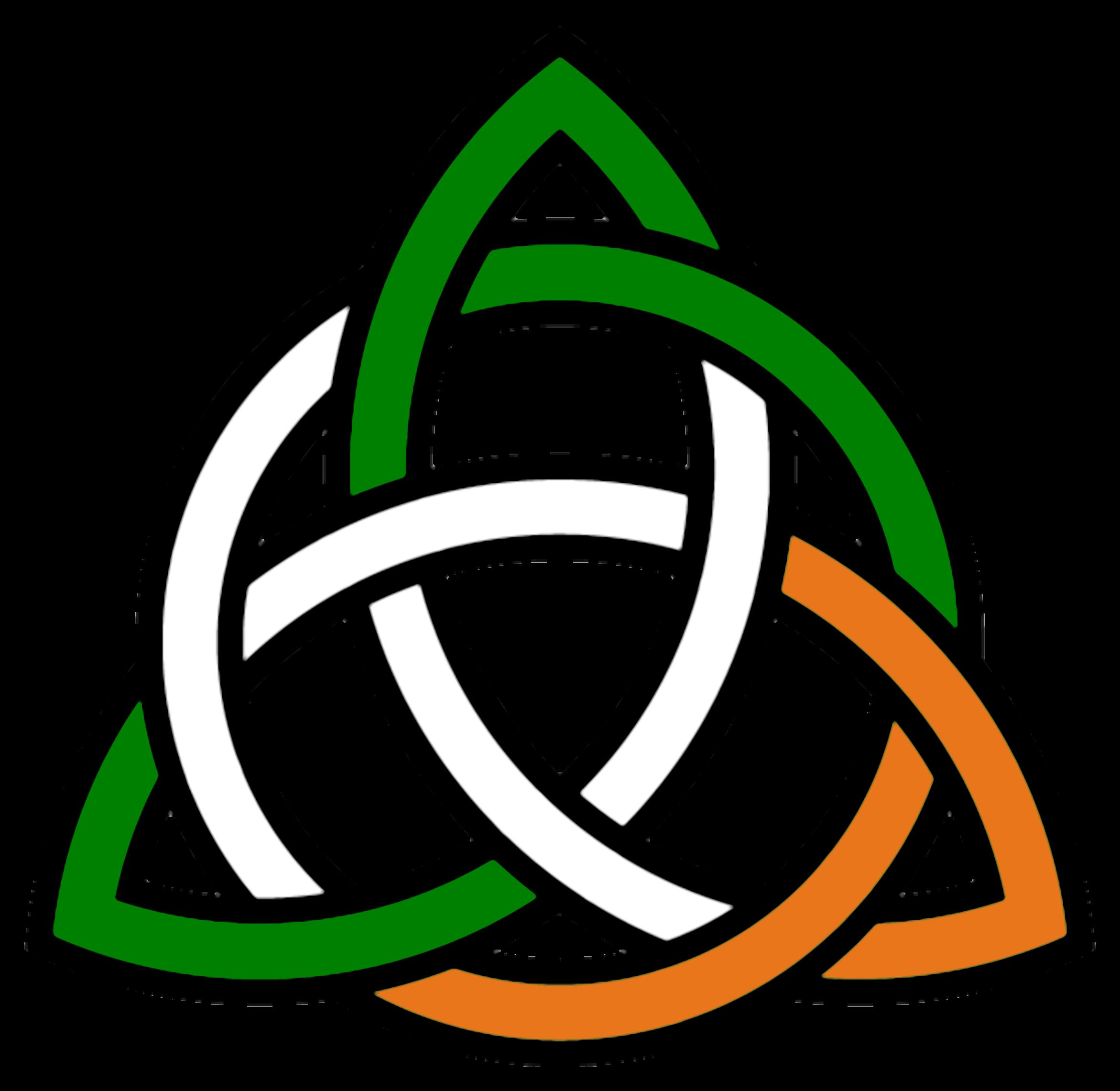 Celtic Trinity Knot Clipart Irish Knot Flag Image Vector Tatoos
