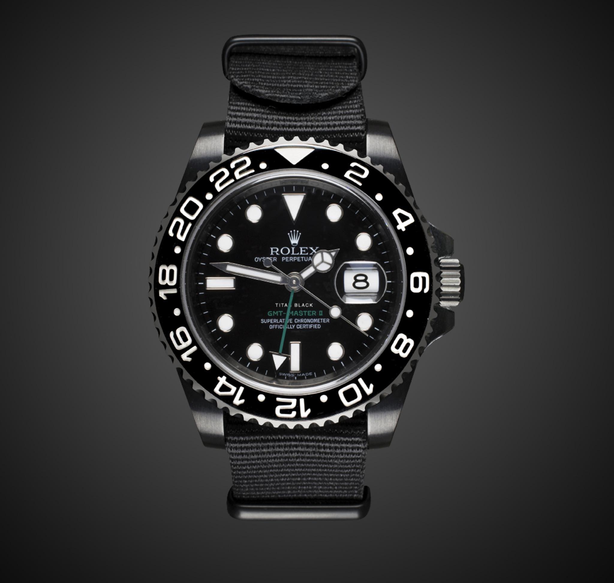 Rolex Pvd Black