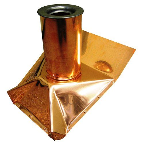 Copper Roof Boot Cover Plumbing Vent Copper Roof Metal Roof