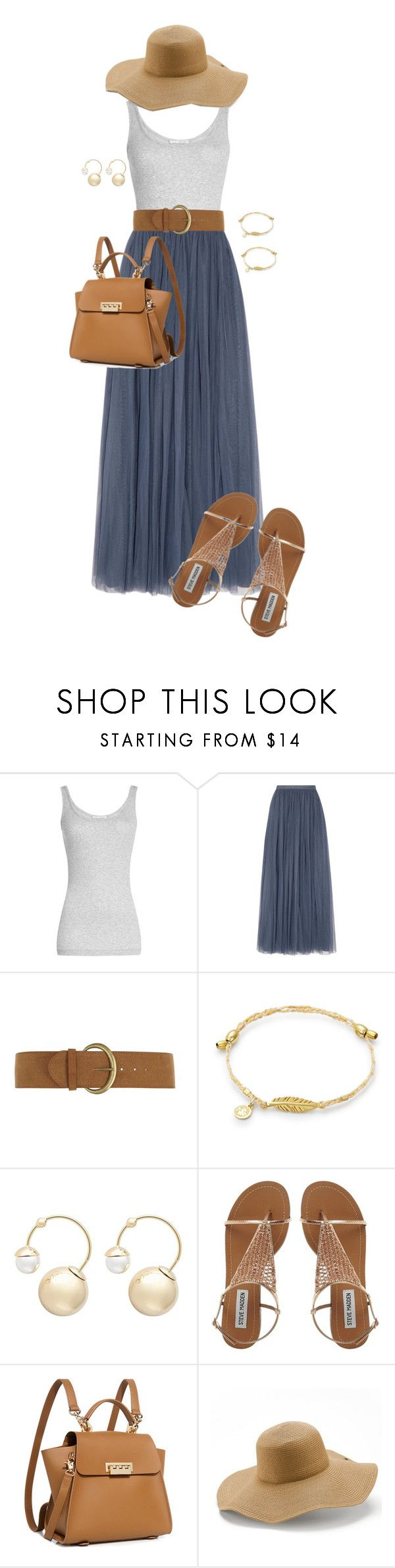 """""""Beach Stroll"""" by ccoss ❤ liked on Polyvore featuring Vince, Needle & Thread, Dorothy Perkins, Witchery, ZAC Zac Posen and Peter Grimm"""
