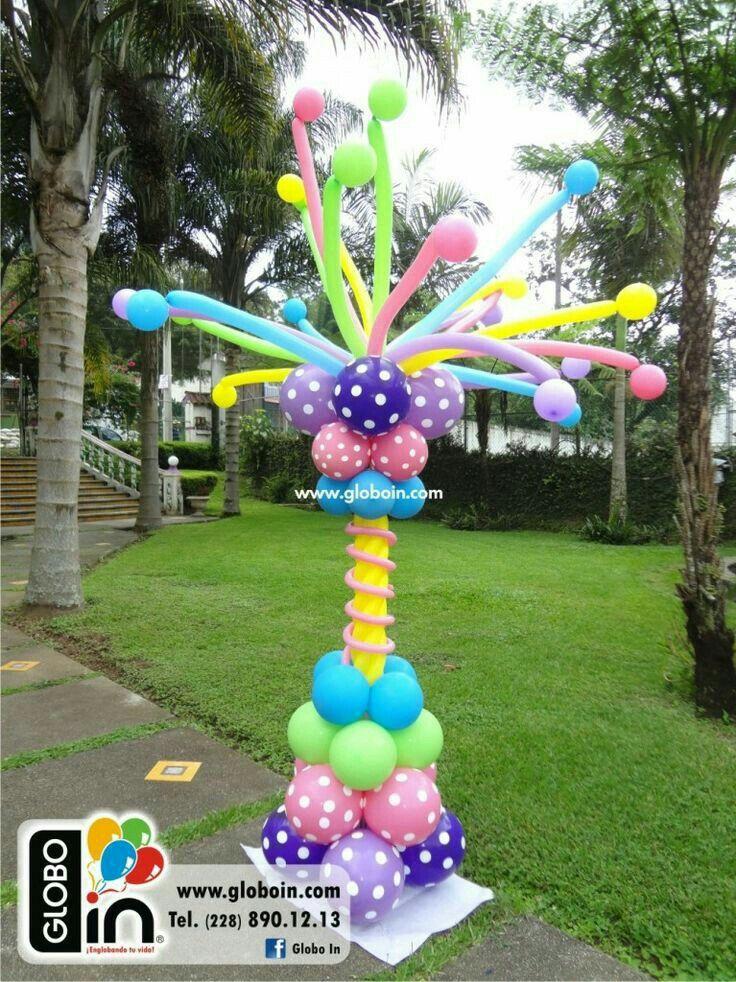 Pin de Norelva Carreño en nora Pinterest Decoraciones para - imagenes de decoracion con globos