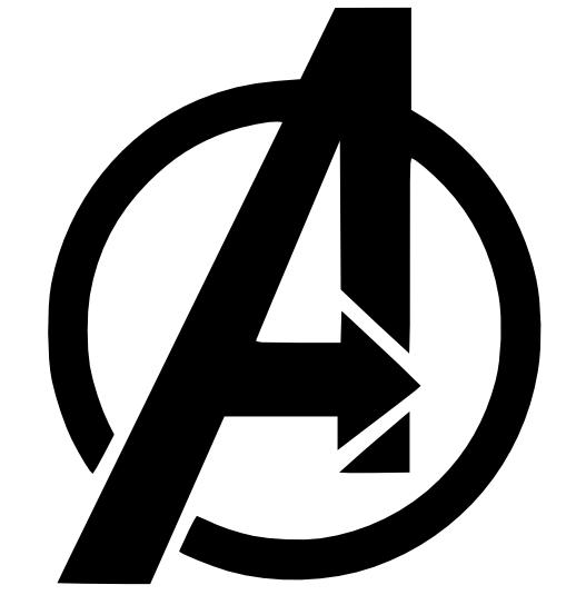 Pin By Amanda Crawley On Cake Ideas Avengers Logo Avengers Symbols Avengers Decals