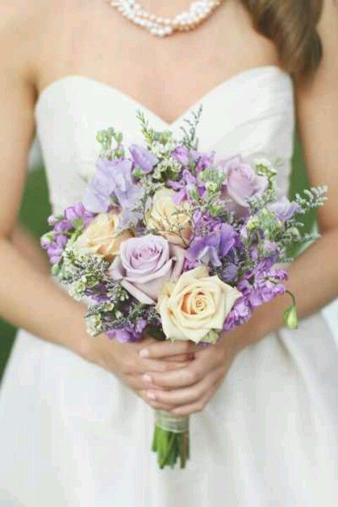 Lavander Bouquet Purple Wedding Bouquets Ivory Bouquet Wedding