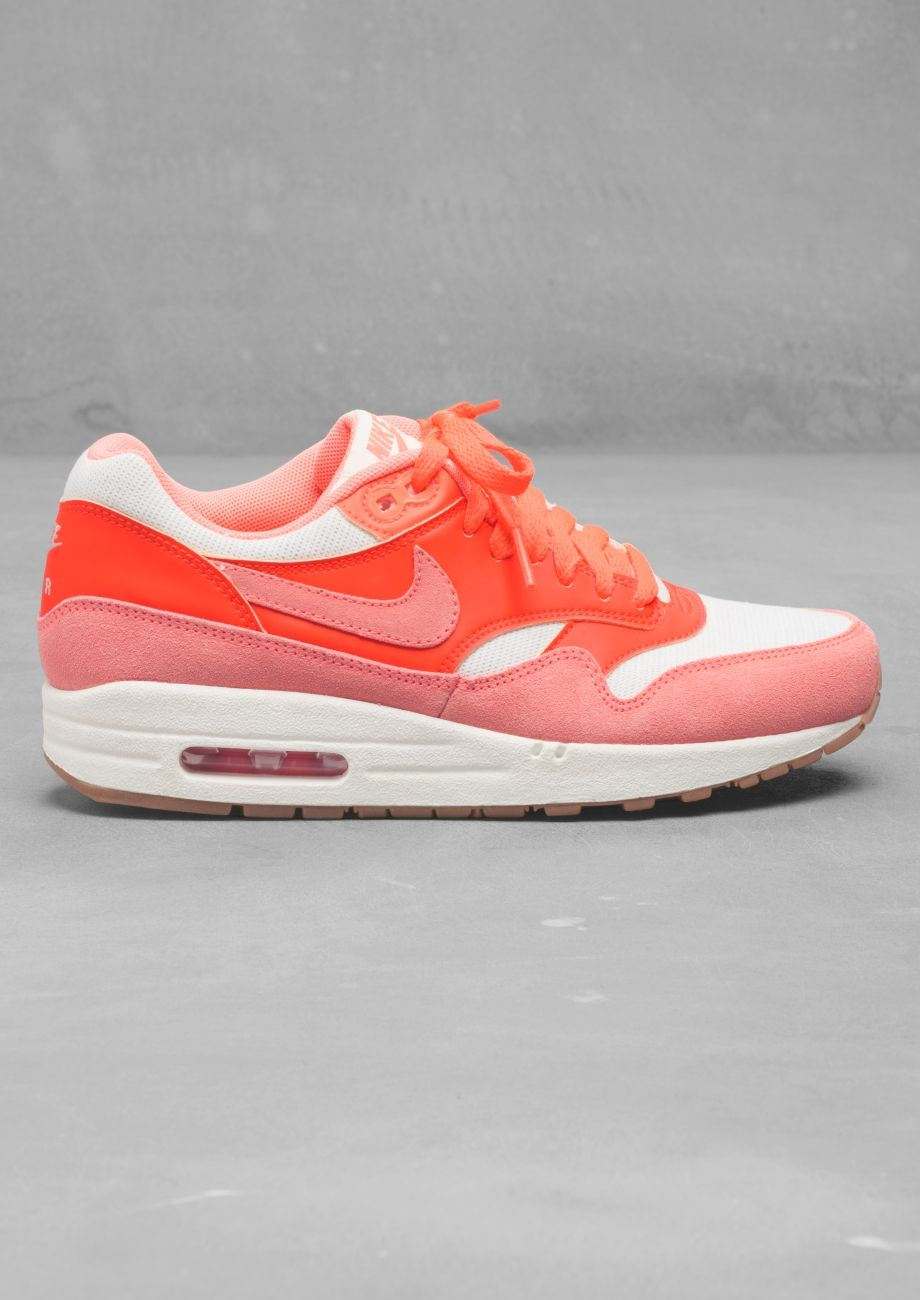on sale 6f15a 39da1 Nike Air Max 1 Vintage   Neon coral     Other Stories