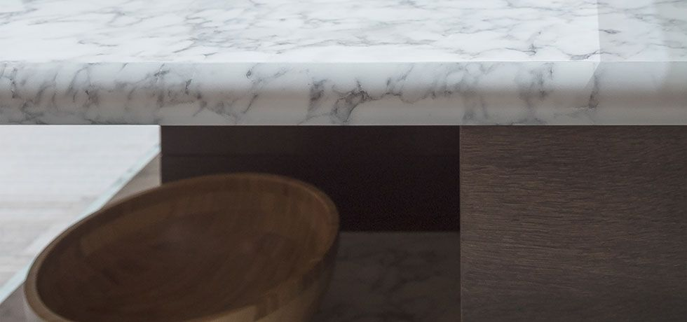 1885k 07 Marmo Bianco A White Torano Marble Design With Varying
