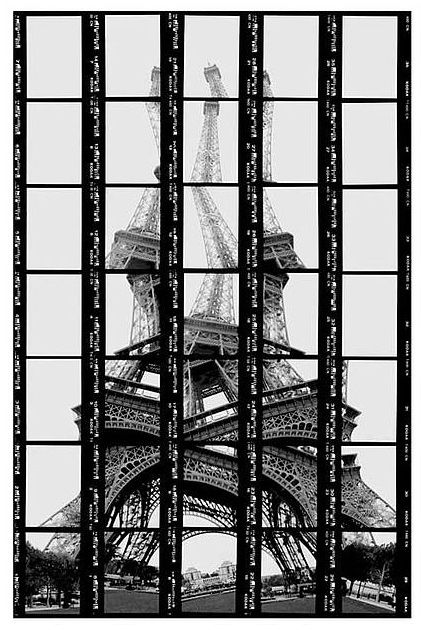The Tower is an object which sees, a glance which is seen  Photographs by Thomas Kellner  Title: Roland Barthes