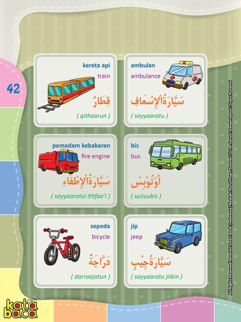 Baca Online Kamus Pintar Bergambar 3 Bahasa Indonesia Inggris Arab Kata Baca Bahasa Kosakata Belajar