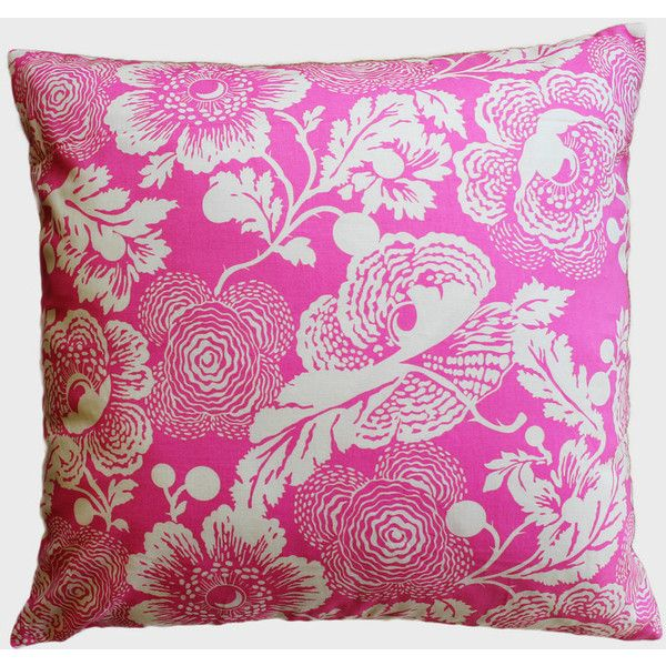 Pink Poppies Vintage Floral Pillow Cover 40 X 40 Decorative Pillow Inspiration Poppy Floral Decorative Pillows