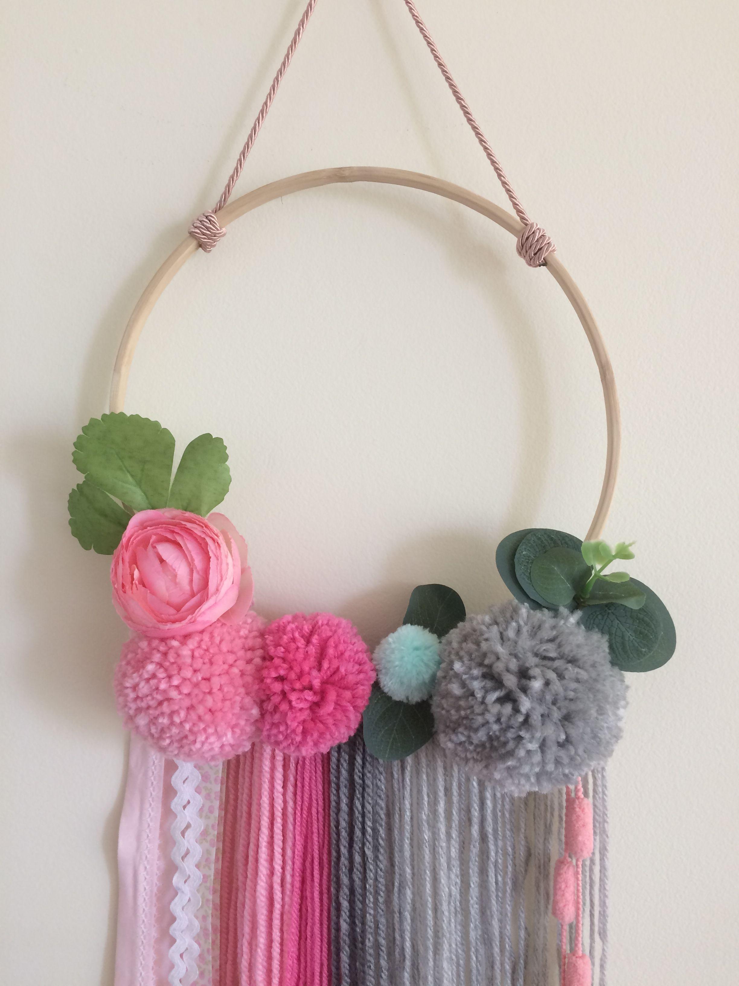 Wall Hanging Baby Shower Gift Dream Catcher Handmade