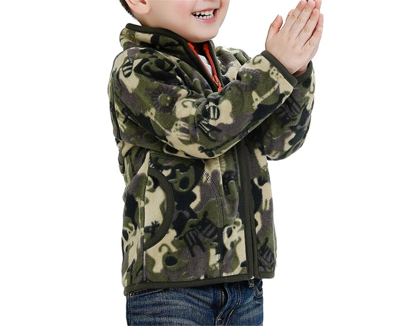 05553f212345 Felds Spring Autum Fall For Children Boy Heavy Fleece Camouflage ...