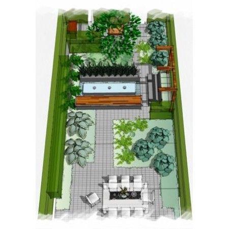 Moderne gezinstuin garden plan – Planning A Small Garden