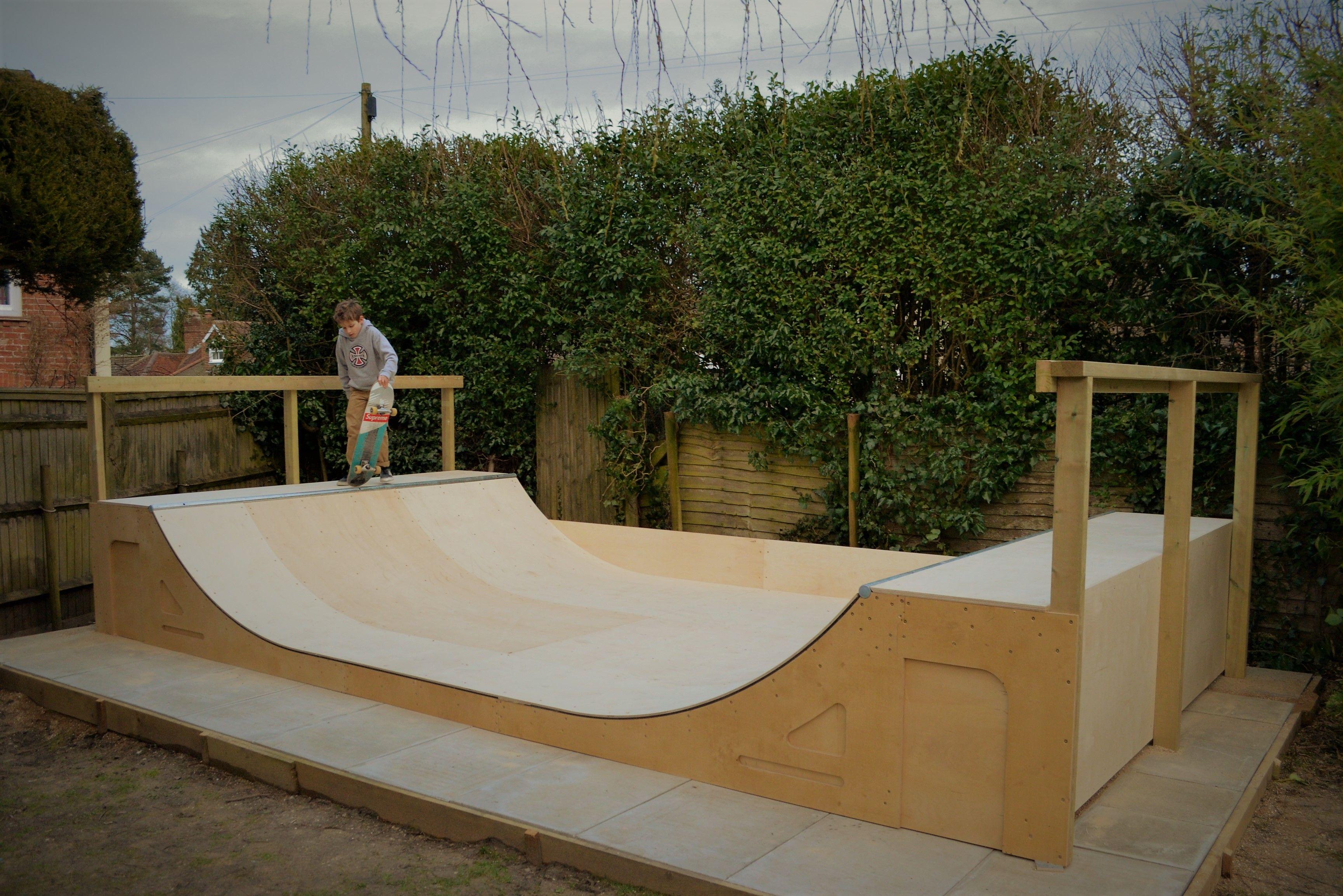 Diy Skate Ramp Kit Mini Ramp Kit For Easy Self Build Skate Ramp Mini Ramp Backyard Skatepark