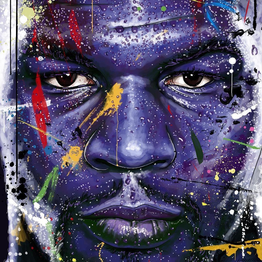 """I'm Just Happy I'm Not A Phony. Mike Tyson"" By b_art1"